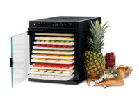 TRIBEST SEDONA EXPRESS SD-6280 DIGITAL FOOD DEHYDRATOR, BPA-FREE TRAY