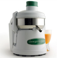Omega J4000 Continuous Pulp-Ejection Centrifugal Juicer, Stainless Steel