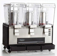 Omega OSD30 Triple Drink Dispenser with 3-Gallon Container
