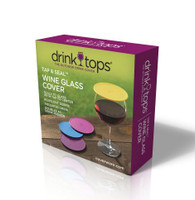 Drink Tops™ Tap & Seal Covers 4-pack Gift Box