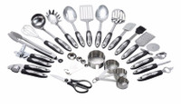 Utensils Set - 26-Piece Complete Stainless Steel Cookware Set