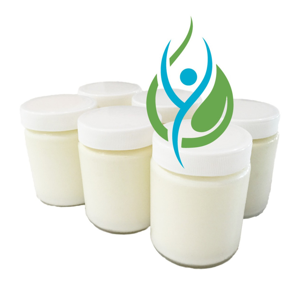 6 Glass Jars Set for  the Wholesome Yoghurt Maker