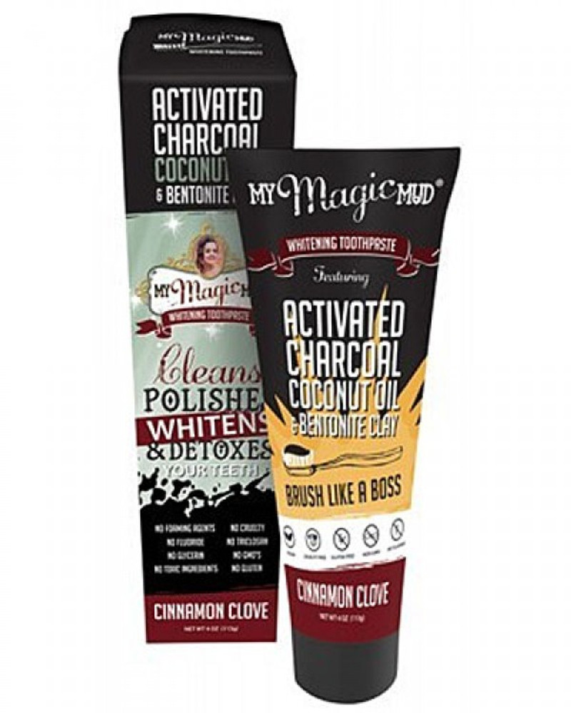 Magic Mud toothpaste Cinnamon Clove