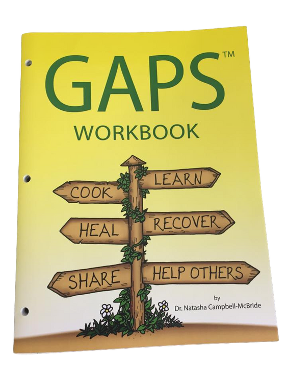 GAPS Workbook: for your GAPS journey