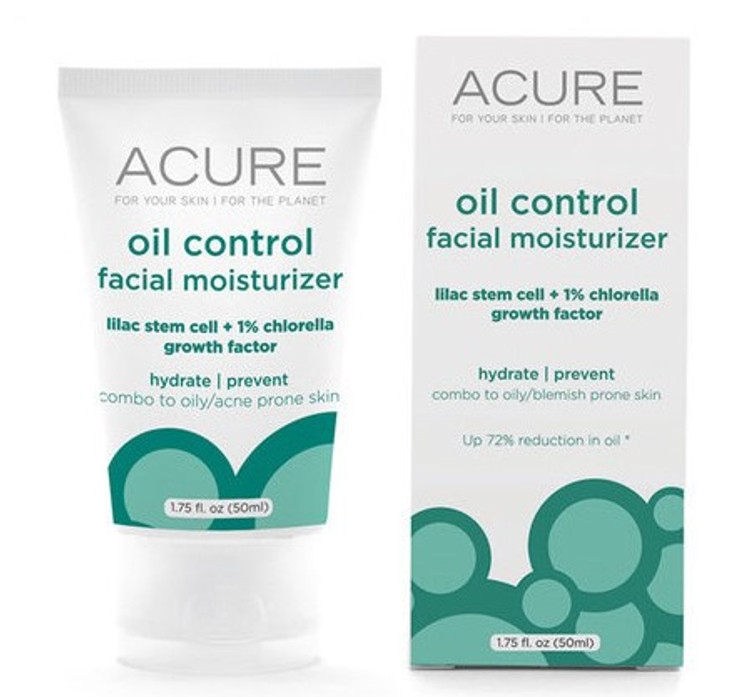 Oil Control Facial Moisturiser: with CoQ10 50ml