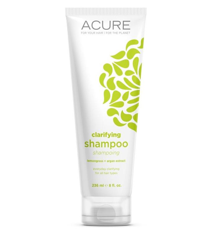ACURE Clarifying Ahampoo: Lemongrass & Argan Stem Cell 235ml