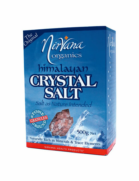 Himalayan Crystal Salt: Stone Ground Pack – GRANULES, 500g