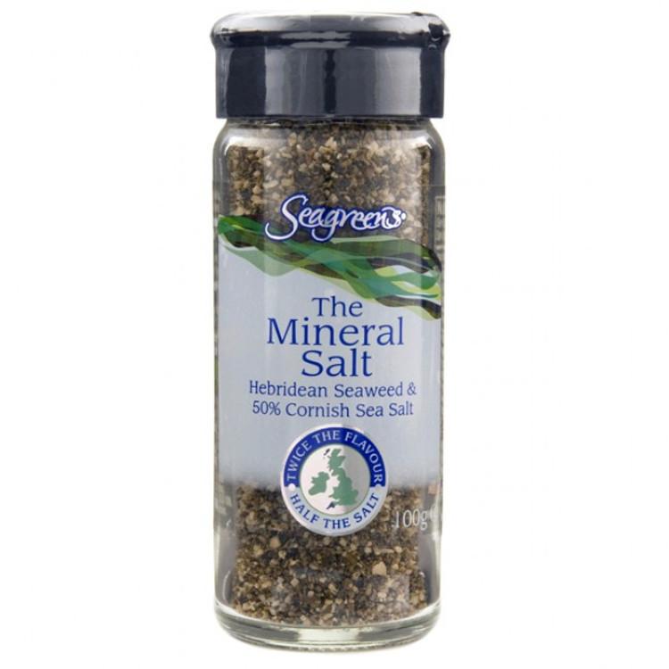 Seagreens Mineral Salt -  Seaweed & Sea Salt: 90g