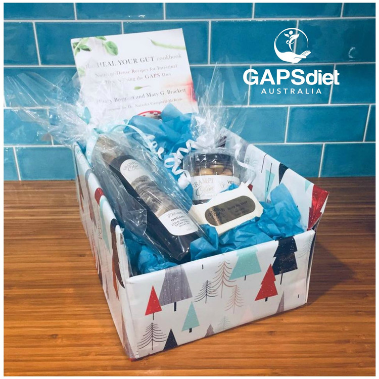 GAPS Christmas Hamper wrapped and ready