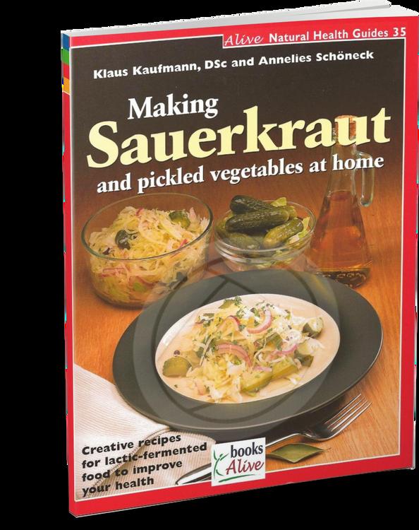 Making Sauerkraut and Pickled Vegetables