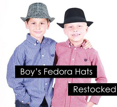 Boy's Fedora Hats