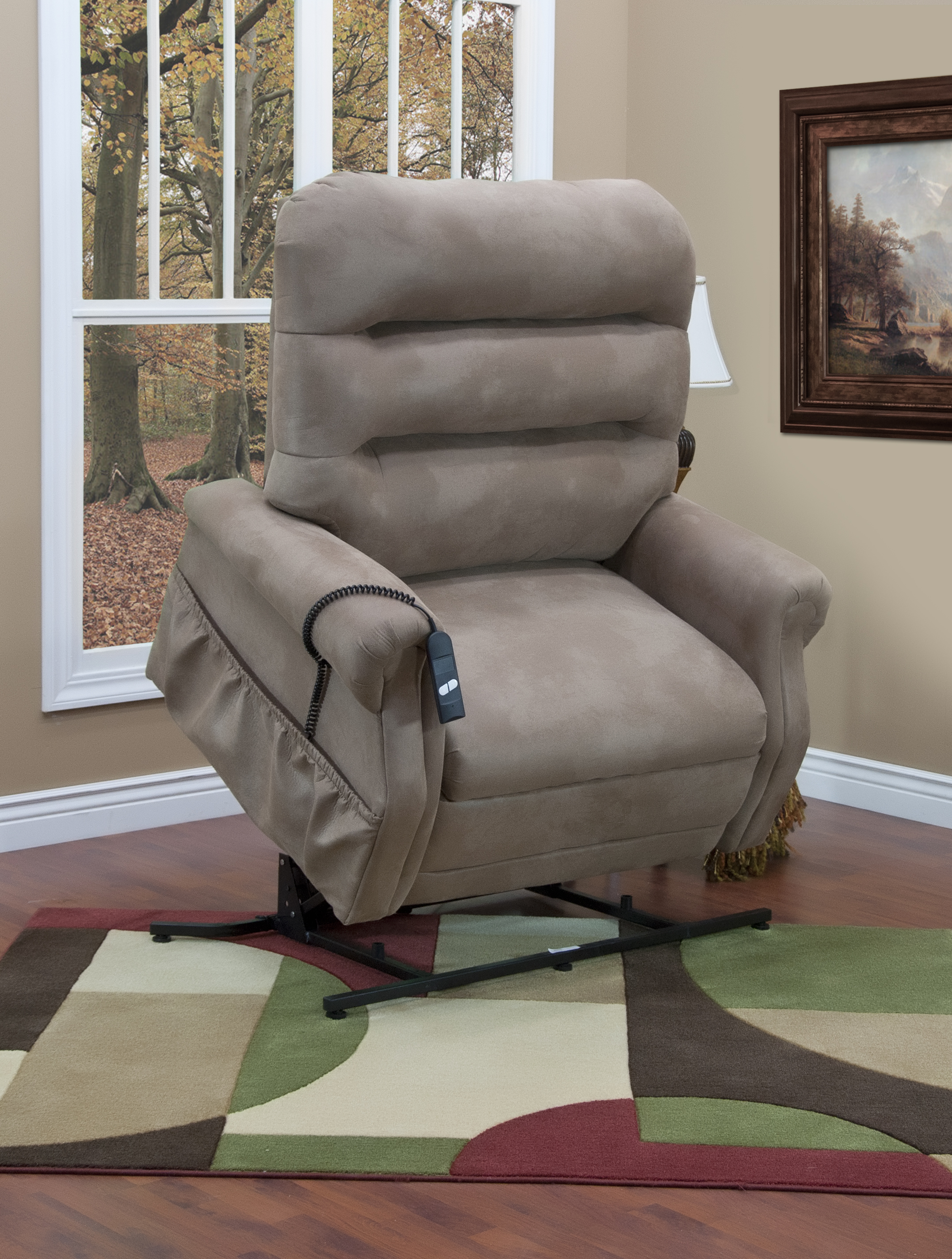 3653 hd 600 lbs capacity three way reclining lift chair by med lift