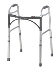 Deluxe Two Button Folding Walker By Drive
