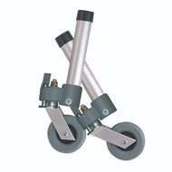 Locking Swivel Walker Wheels with Two Sets of Rear Glides By Drive