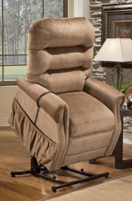 3053W  WIDE   Three-Way Reclining Lift Chair by Med-Lift
