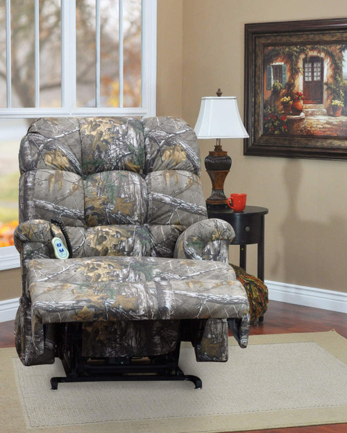 5500mo mossy oak camouflage wall a way three position reclining