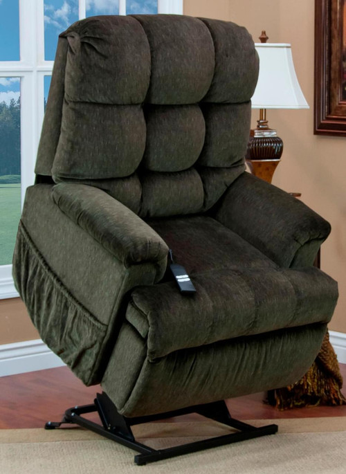 5500w wall a way wide three position reclining lift chair by med