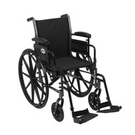 Cruiser III Light Weight Wheelchair with Flip Back Removable Arms By Drive