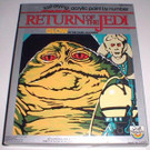 1983 Star Wars ROTJ Jabba The Hutt Paint By Number Set