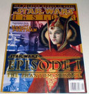Star Wars Insider #39, Ep1 Queen Cover, shows some wear