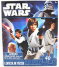 Star Wars Classic Han, Luke, Leia 48pc Lenticular 3D Puzzle