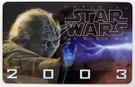 Star Wars Insider 2003 Yoda Membership card