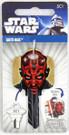 Star Wars Darth Maul House Key Blank for Schlage