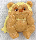 1983 Star Wars Ewoks Cartoon Series Wicket Magnet 1.25""