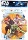 Star Wars Clone Wars Party Happy Birthday Banner w/ Yoda