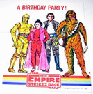 1980 Star Wars ESB Heroes and Villains Single Invitation
