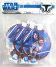 Star Wars Clone Wars Party Favor Blowouts w/ Anakin, Obi Wan 8 pack