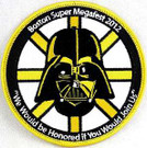 Star Wars 2012 Boston Megafest Darth Vader Embroidered Patch