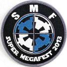 Star Wars 2013 Super Megafest Imperial Logo Embroidered Patch