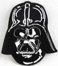 Star Wars Darth Vader Head Embroidered Patch