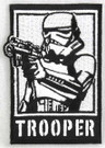 """Star Wars Stormtrooper """"Trooper"""" Embroidered Patch"""