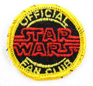 1977 Official Star Wars Fan Club Patch Version #1, Unused