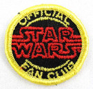 1977 Official Star Wars Fan Club Patch Version #2, Unused