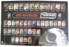 """2011 Star Wars SD Comic Con Revenge Jedi Hasbro Promo Poster 19x29"""""""