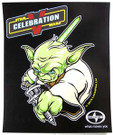 "Star Wars Celebration 5 C5 Yoda Scion Poster 11.5 x 14"""