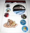 1983 Star Wars Germany Sticker Pack Star Destroyer & Ewoks, sealed