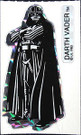 1983 Star Wars ROTJ Vending Machine Prism Darth Vader Sticker