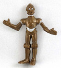 1986 Star Wars C-3PO (C3PO) Star Tours PVC Figure
