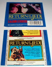 1983 Star Wars ROTJ Topps Sticker Album empty sticker wrapper