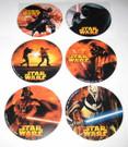 Star Wars Episode 3 ROTS Sticker set of 6