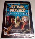 Star Wars England Episode 1 Merlin Stickers empty wrapper