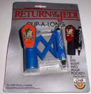 1983 Star Wars ROTJ Clip a Long R2-D2 Compass & Crayon