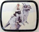 1980 Star Wars ESB Luke/Taun Taun Micro Tin / Pillbox