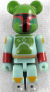 Star Wars Medicom Boba Fett Bearbrick Mini Figure