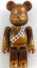 Star Wars Medicom Chewbacca Bearbrick Mini Figure