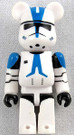 Star Wars Medicom Clone Trooper Captain Rex Bearbrick Mini Figure